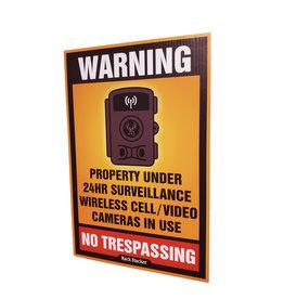 "Rack Stacker No Trespassing Signs  (48PK) 12""x18"""