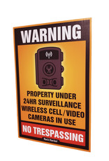 "Rack Stacker No Trespassing  Signs (24PK) 12""x18"""