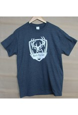 Rack Stacker Grey Promo T-shirt NEW logo