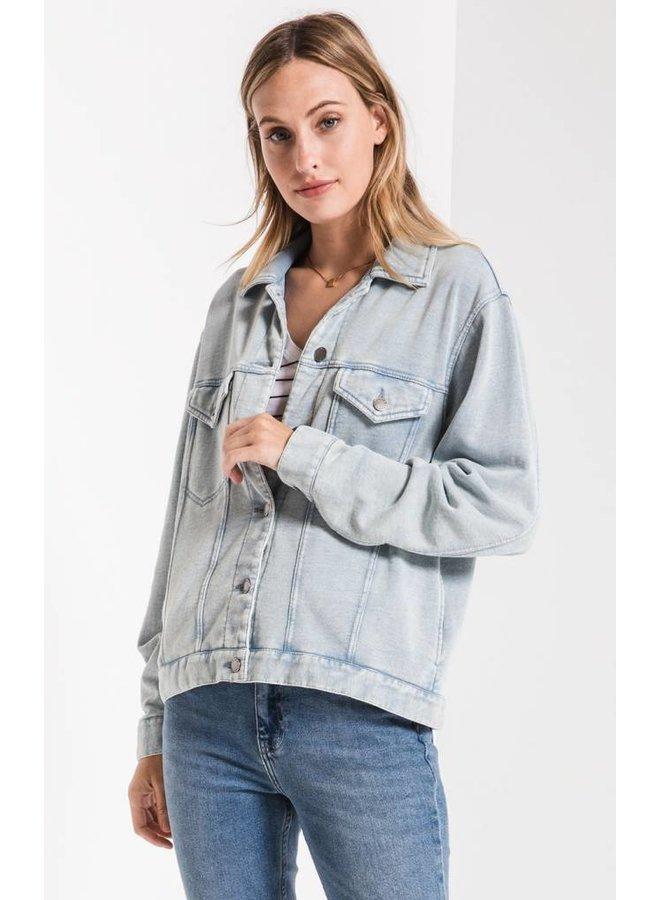The Knit Denim Jacket