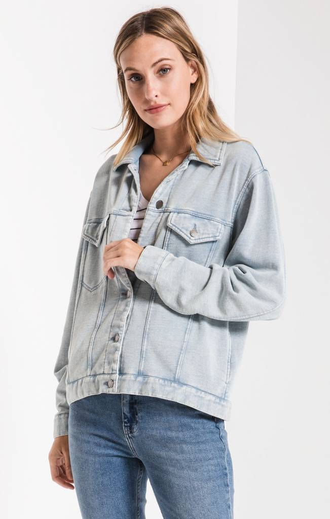 Z-Supply The Knit Denim Jacket