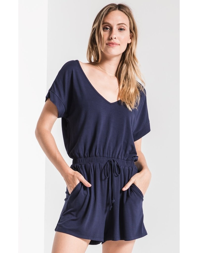 Z-Supply Blaire Sleek Jersey Romper