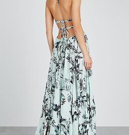 Free People Lille Printed Maxi
