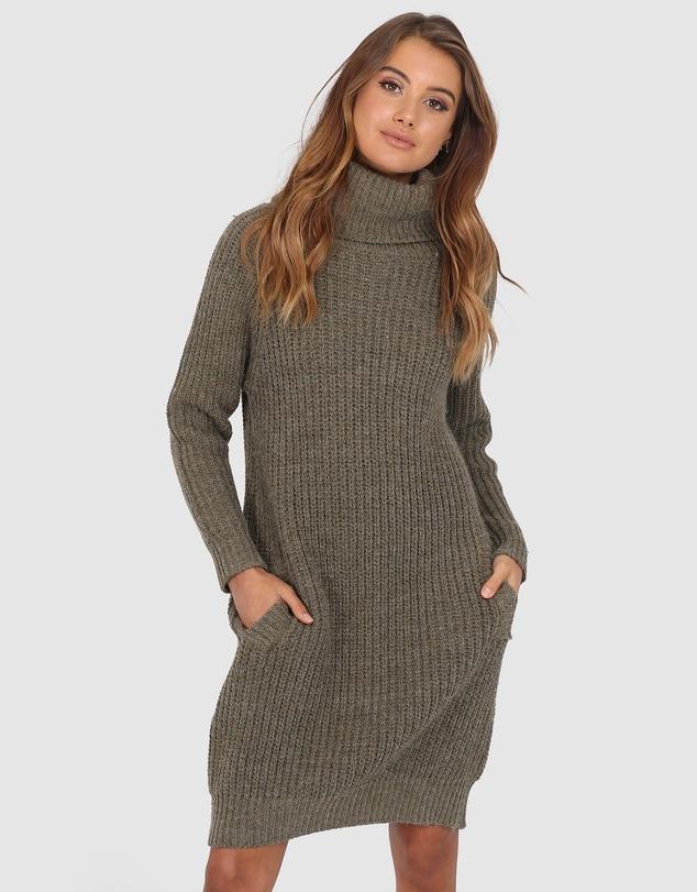 Lost In Lunar Memphis Knit Dress