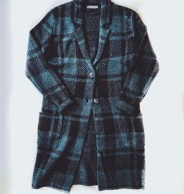 Button Buffalo Check Sweater