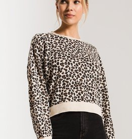Z-Supply The Multi Leopard Pullover
