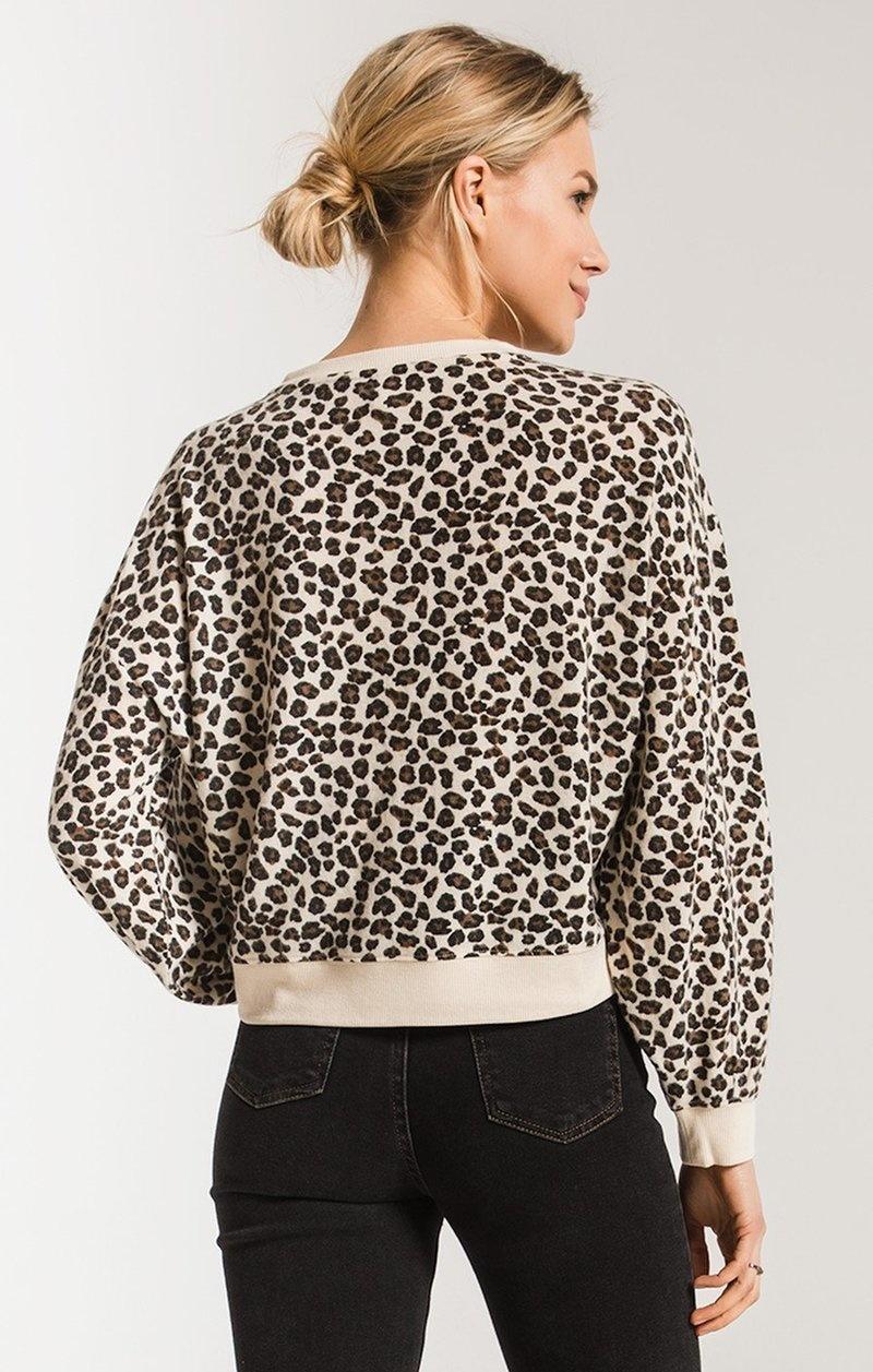 Z-Supply The Multi Leopard Pullover