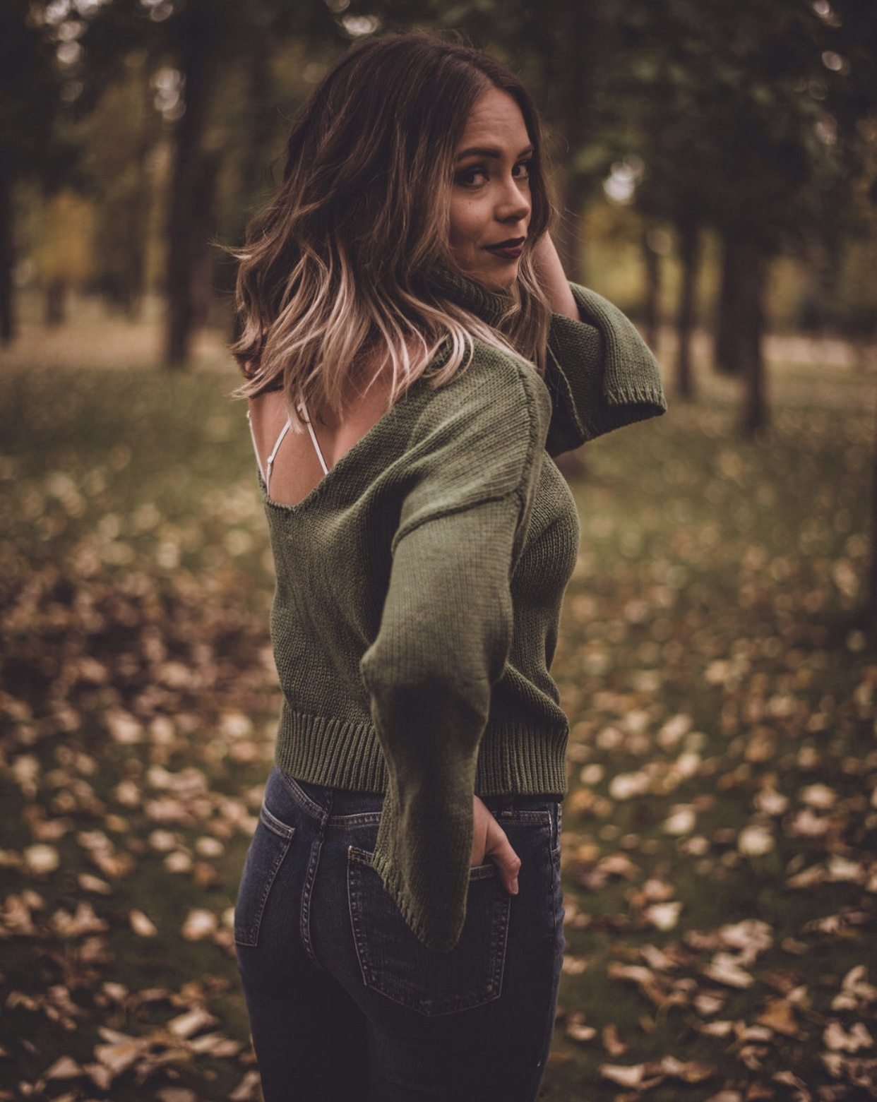 One Teaspoon Thick Roll Neck Sweater