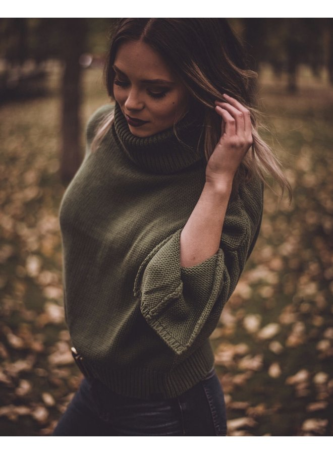 Thick Roll Neck Sweater