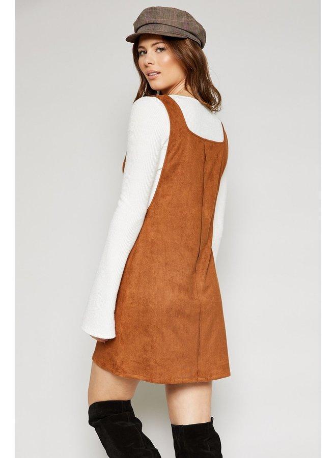 Esme Suede Mini Dress