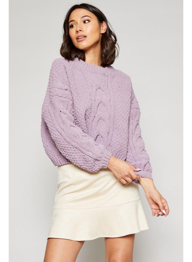Azalea Crop Sweater