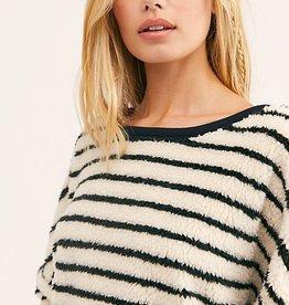 Free People Breton Stripe Pullover