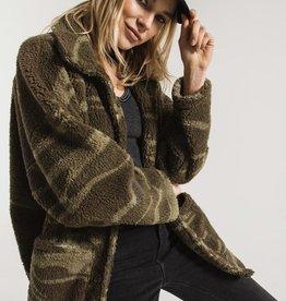 Z-Supply The Camo Sherpa Teddy Coat
