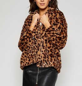 Lady Leopard Fur Coat