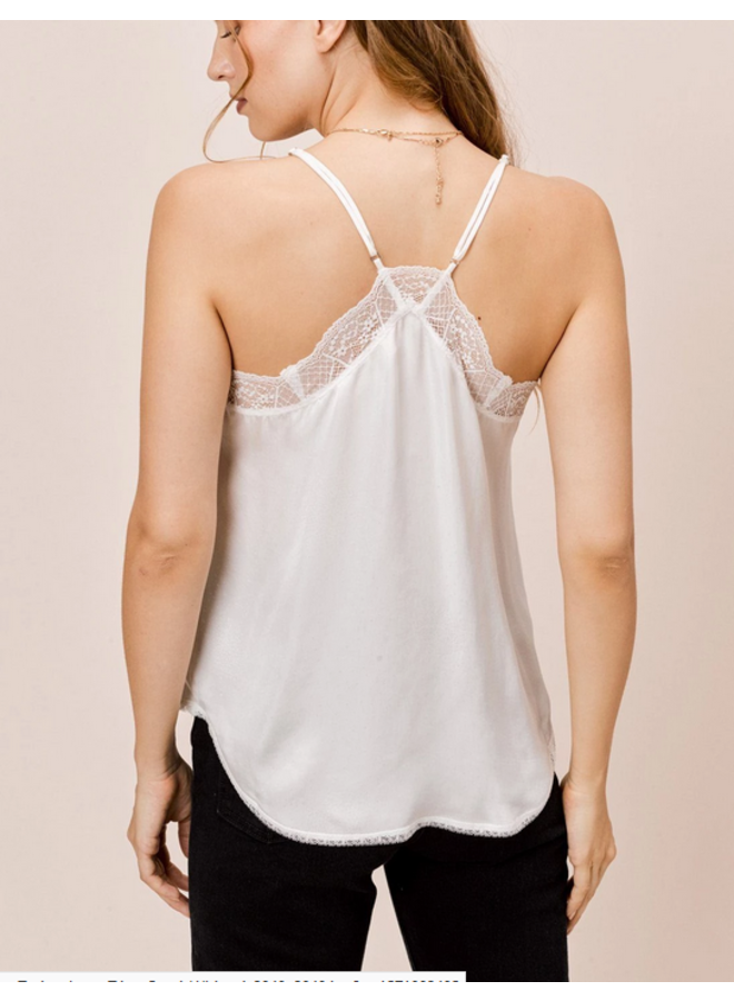 Heavy Lace Trim Cami