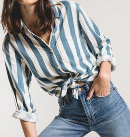 Rag Poets Florence Striped Shirt