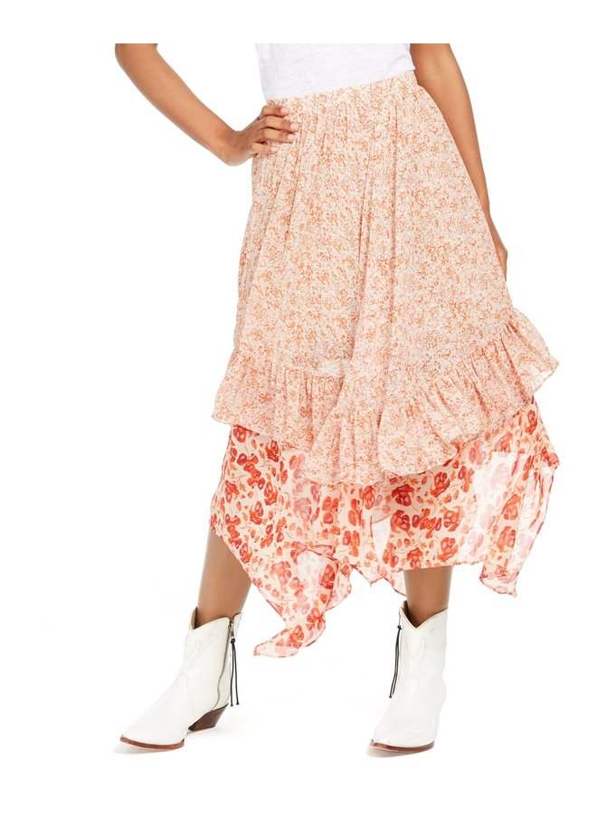 Zuma Drippy Ruffle Skirt