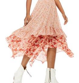 Free People Zuma Drippy Ruffle Skirt