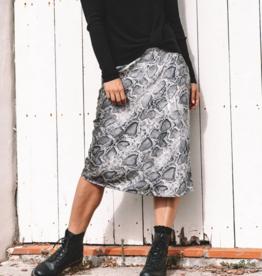 WB Printed Bias Skirt