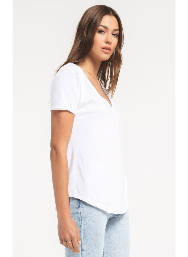 Organic Cotton V-Neck
