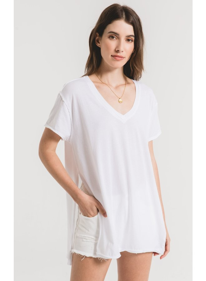 Organic Cotton Slit Tunic
