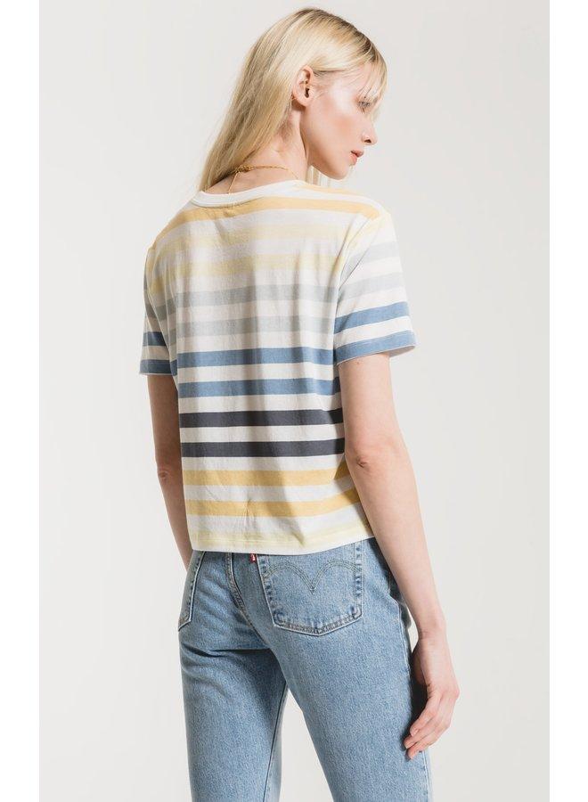 The Rainbow Stripe Tee