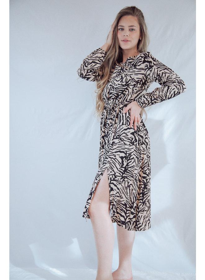 Long Sleeve Asymetric Dress