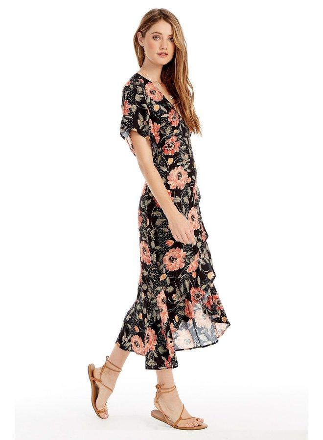 Orchid Midi Dress