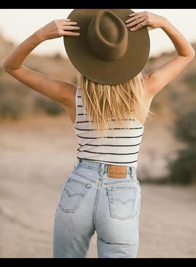 Seri Stripe Bodysuit