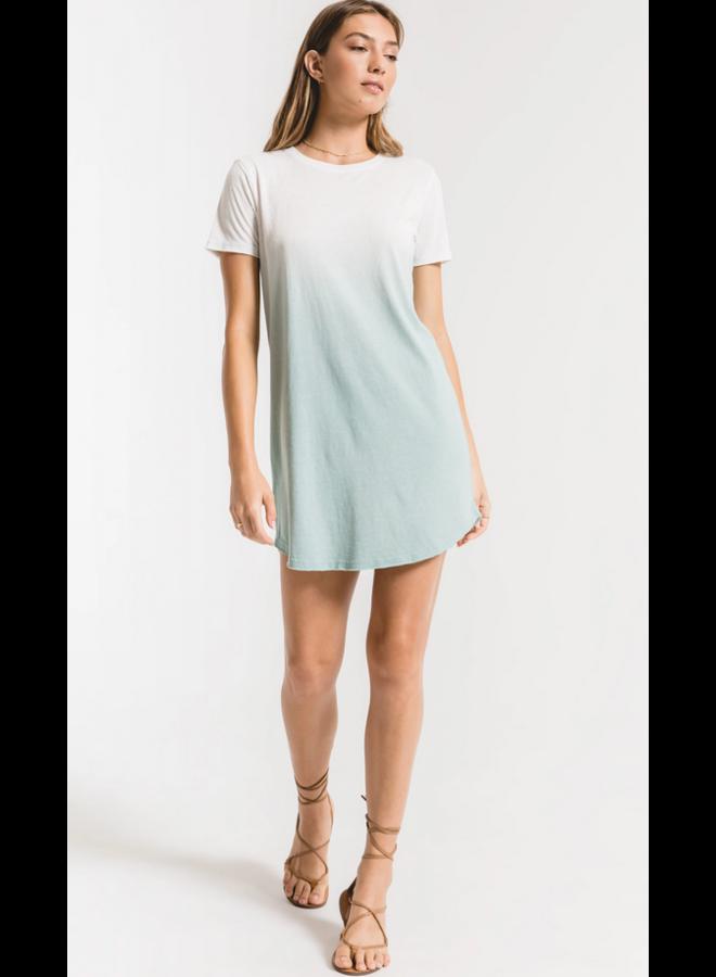 Ombre Dip Dry Dress