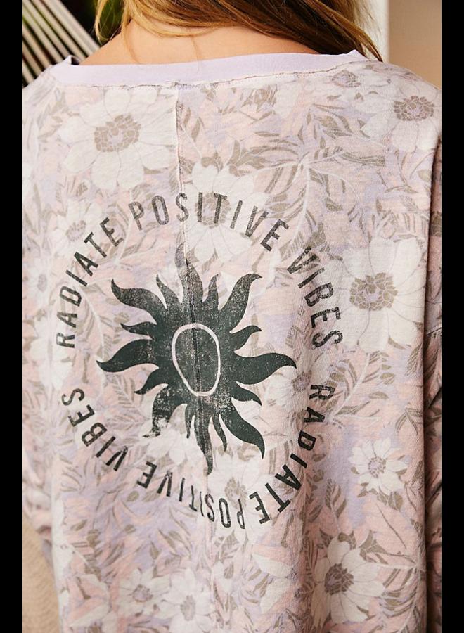 Printed Victory Lap Long Sleeve