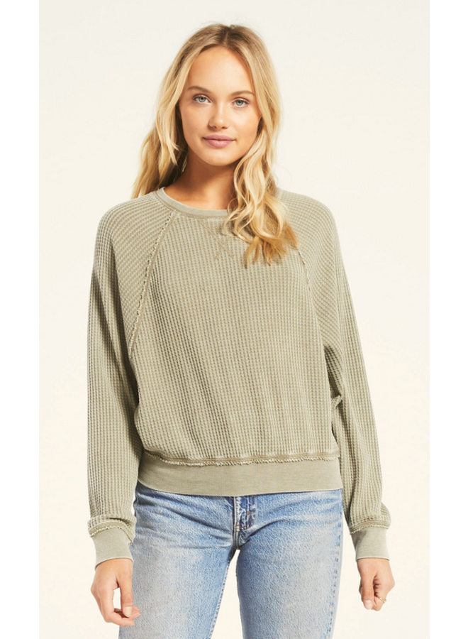 Claire Waffle LS