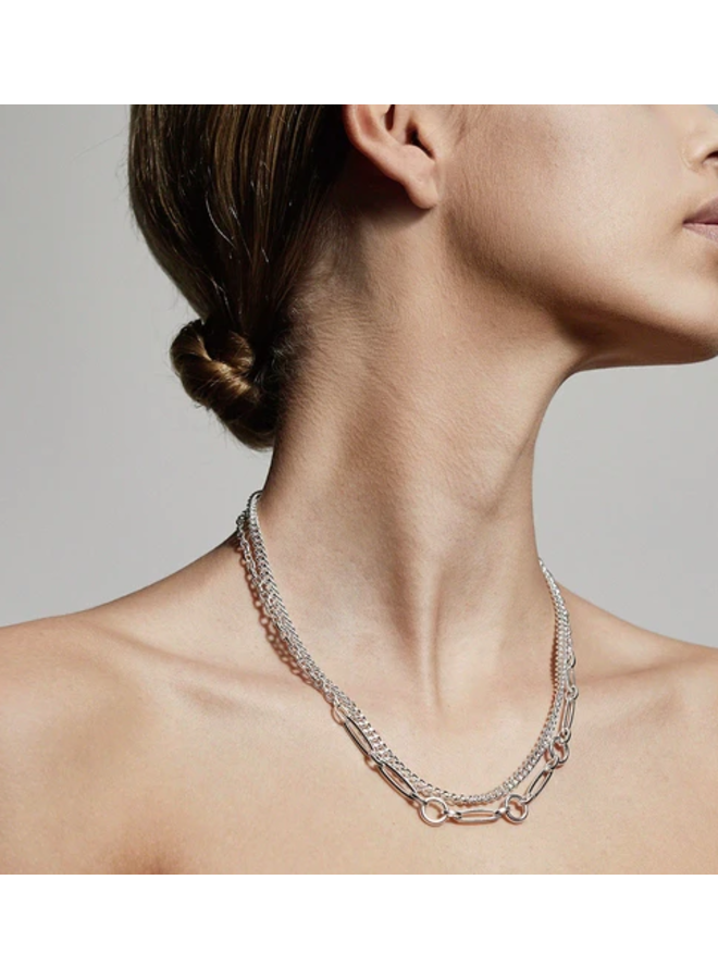 Sensitivity 2-1 Chain Necklace