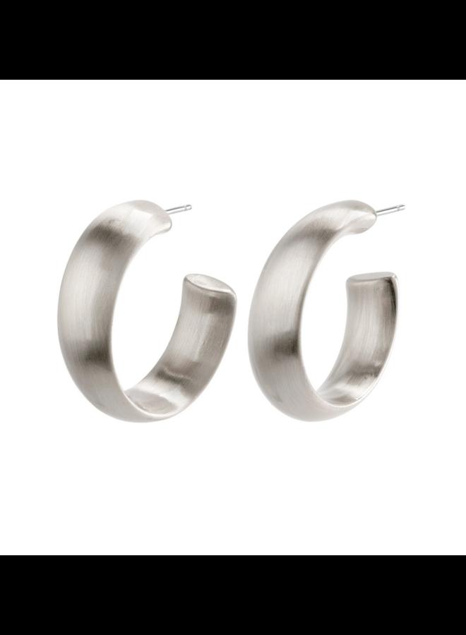 Garnet Earring