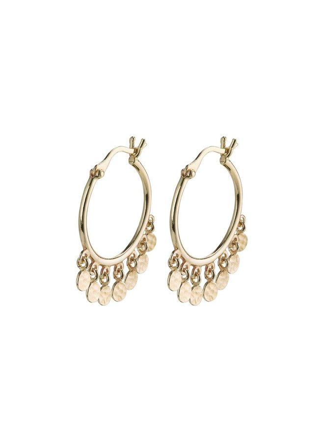 Panna Hoop Earrings