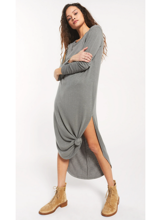 Ray Slub Sweater Dress