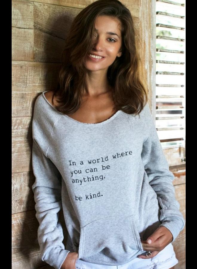 Be Kind Lounge Sweater