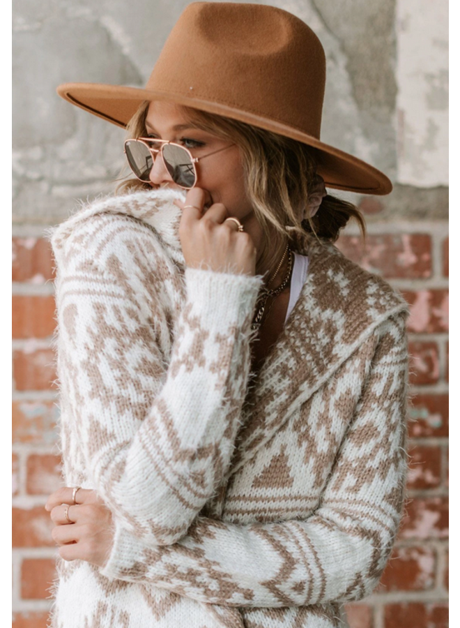 Cabin Days Hooded Cardigan