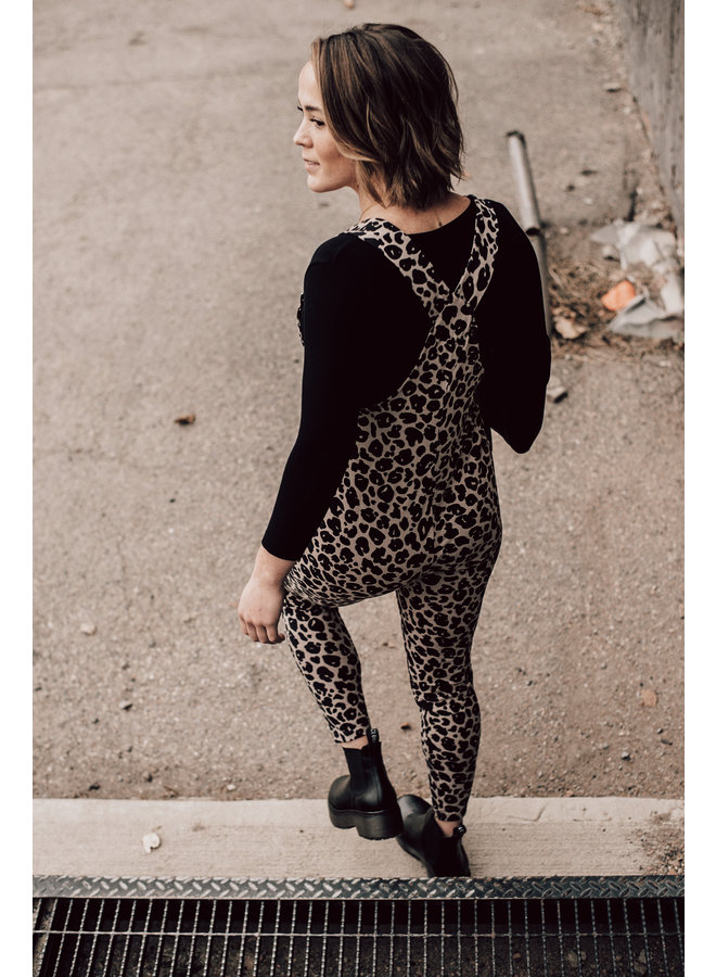 Leopard Romperall