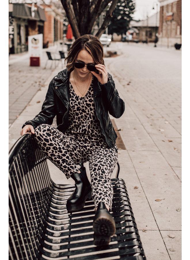 Leopard Sunday Romper