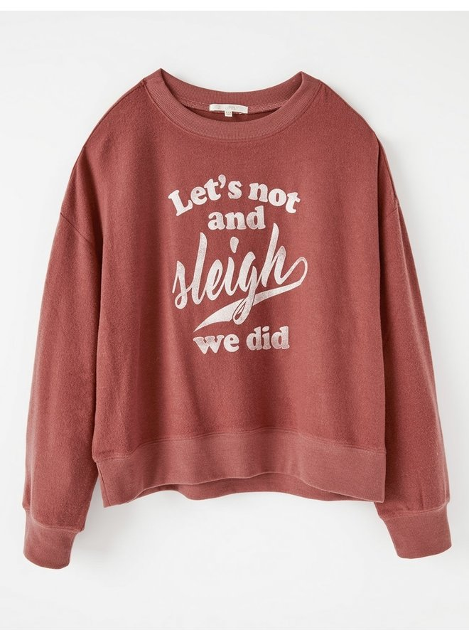 Elle Sleigh Sweatshirt