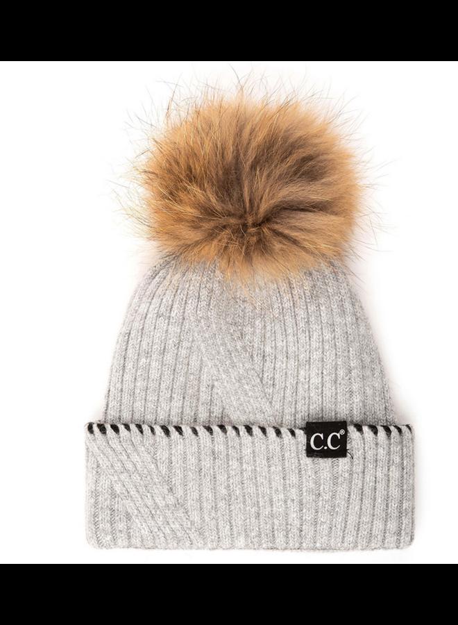 CC Angora/Real Fur Pom