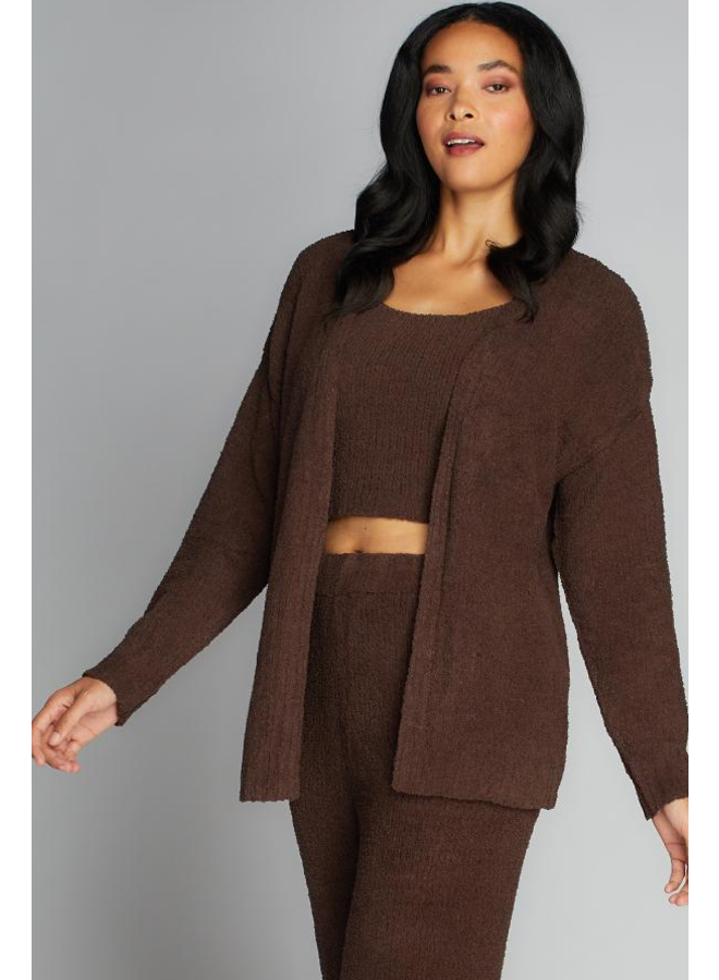 Open Front  Lounge Cardi