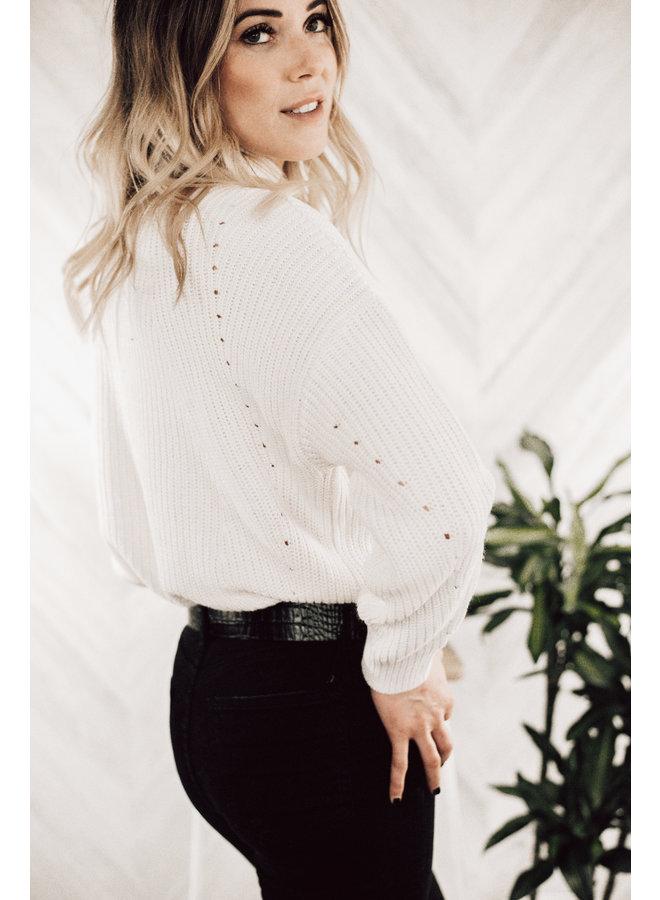 Katie Drawstring Sweater