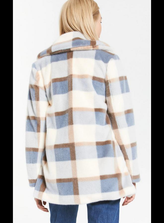 Carmen Plaid Coat
