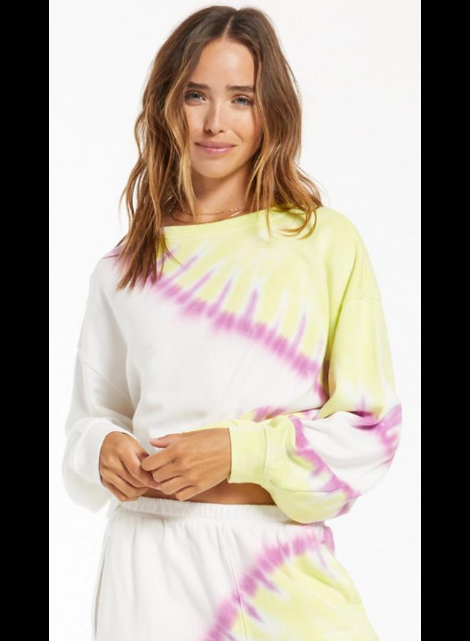 Sunburst Tie Dye Pullover