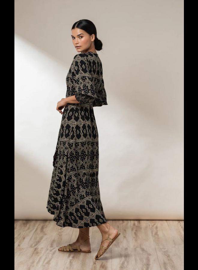 Elora Wrap Dress