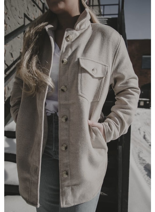 Rd Solid Woven Coat