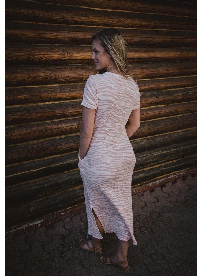 Felix Waffle Maxi Dress