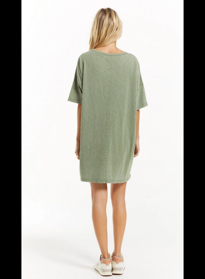 Delta Slub Dress